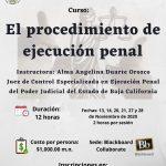El procedimiento de ejecución penal